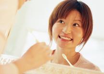 歯周病予防に努めています。